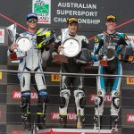 Toparis Completes the Trifecta of Supersport Victories