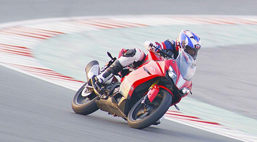 TVS Apache RR310 - Australian Motorcycle News
