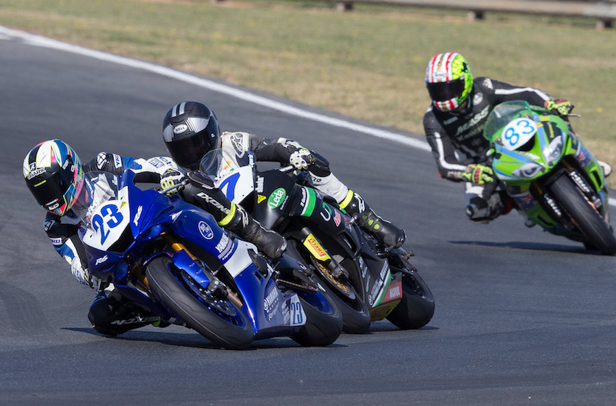 Cru Halliday Unstoppable For Yamaha At Wakefield Park