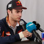 Dani Pedrosa racing COTA after surgery