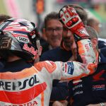 Marc Marquez was docked three grid places