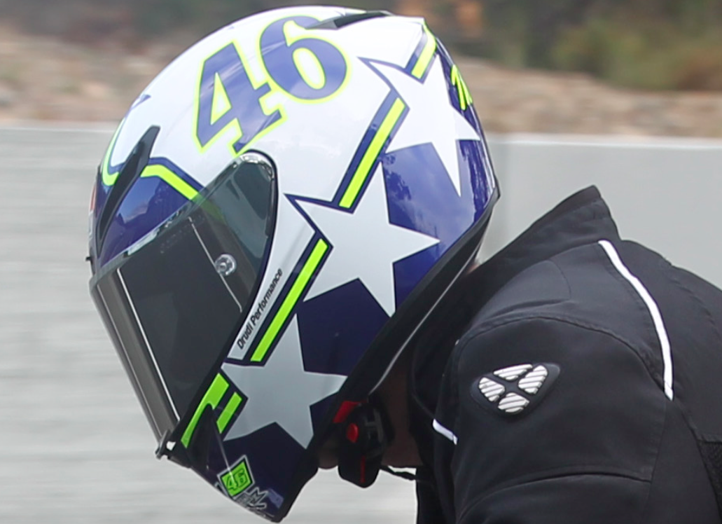 Review: AGV Corsa Velocity Helmet | RideApart.com Photos