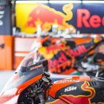 KTM's expected reverse-crank engine