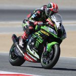 Rea Fastest Despite Crash
