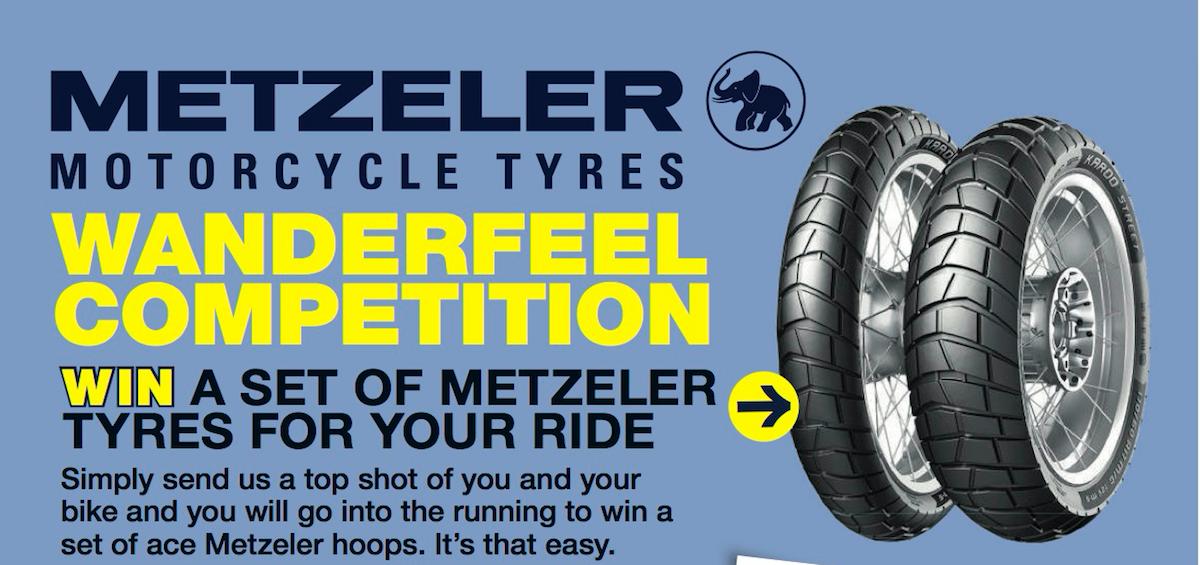Win a set of Metzeler tyres - Australian Motorcycle News