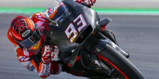 Marquez tops testing in Bar...