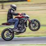AMCN's Lukey Luke Stunt Show at 'Blessing of the Bikes