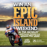 WIN an EPIC Island Weekend thanks to Swann Insurance