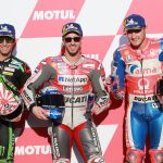 Front row start for Dovi, Zarco and Miller