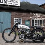 Winslow and Wicksteed Triumph Speed Twin
