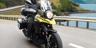 It's here! Suzuki's V-Strom...