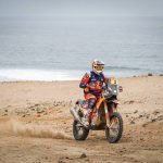 Toby Price leads Dakar after Stage 8