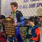 Maurice Brown Dominates to Become U16 125cc Solo Speedway Champion