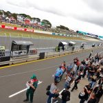 Off-track action at WorldSBK at Phillip Island