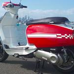 Bicolore Lambretta V-SpecialScooter