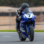 Tom Toparis first in Supersport qualifying session