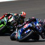 LOWES TOPS THE TIME SHEETS IN PORTIMAO