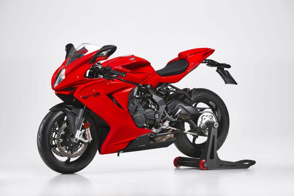 MV Agusta F3 Rosso las