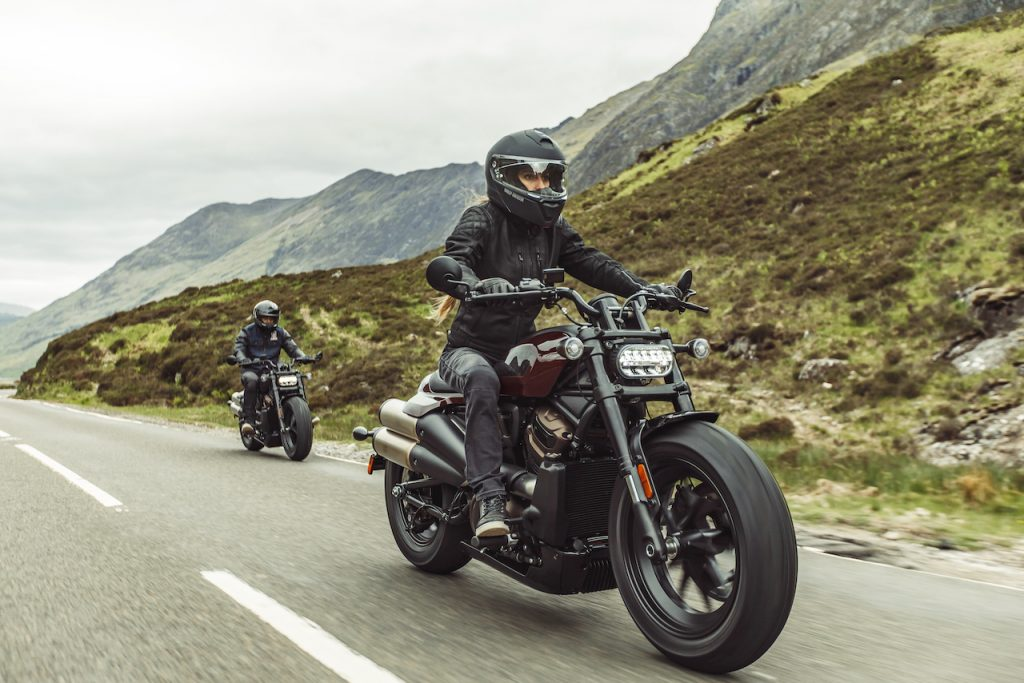 Harley-Davidson Sportster S main