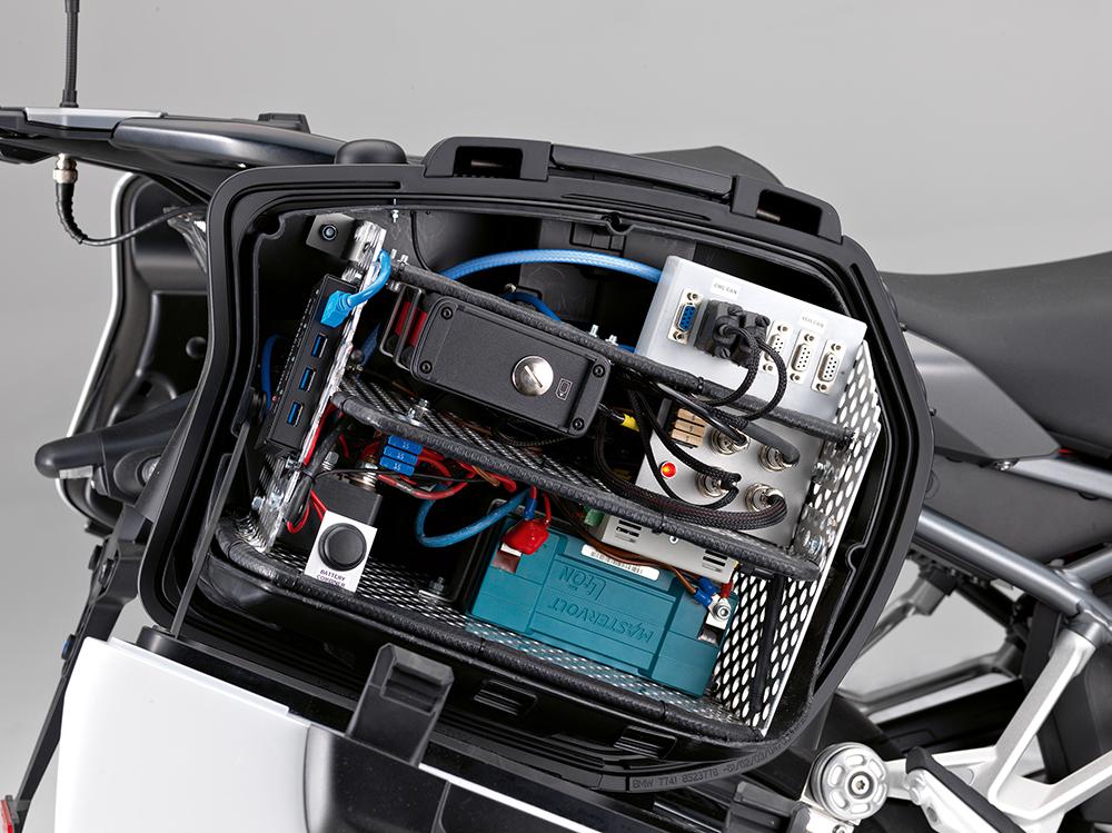 Motorcycle radar