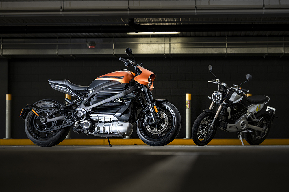 Electric motorcycles