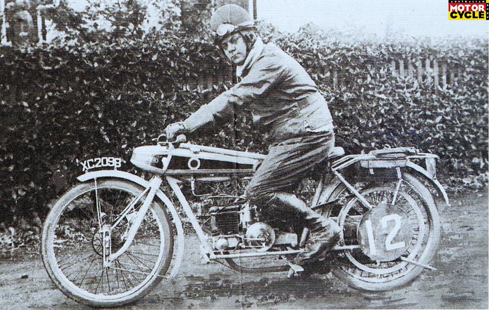 Wooler Motorcycle
